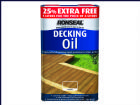 Ronseal Decking Oil Natural Clear 4 Litre +25%